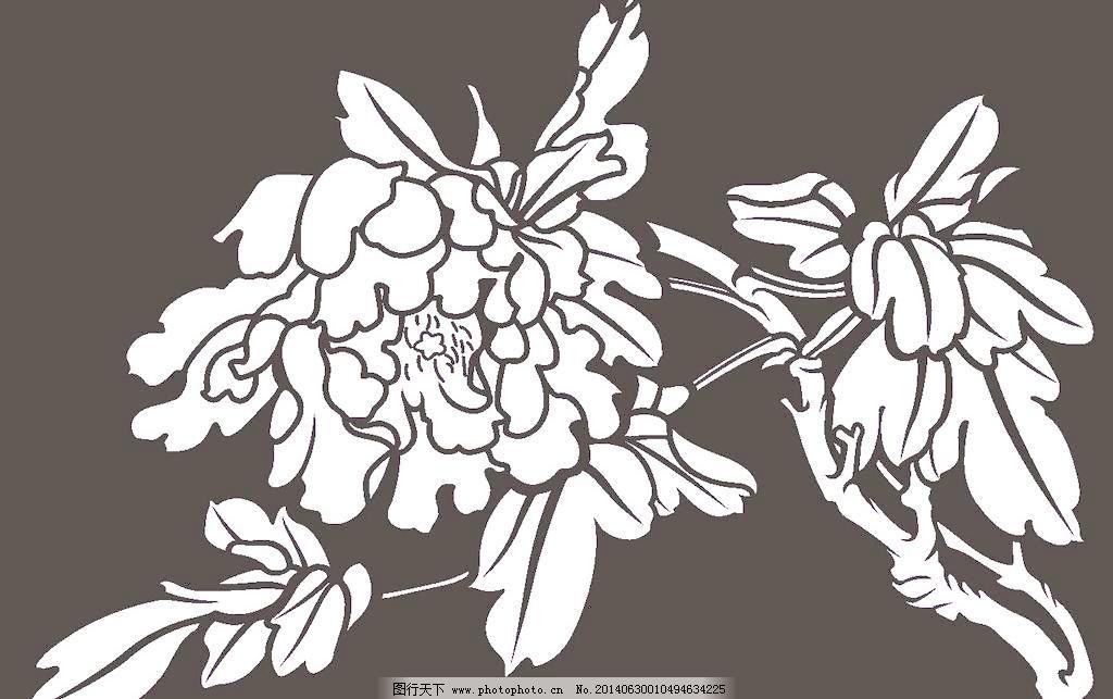 烤漆 石雕 木雕 刺绣 窗花 剪纸镂空 古典花纹 移门花纹 仿古图案