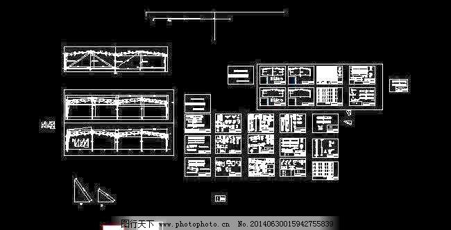 车间 钢结构 建筑设计