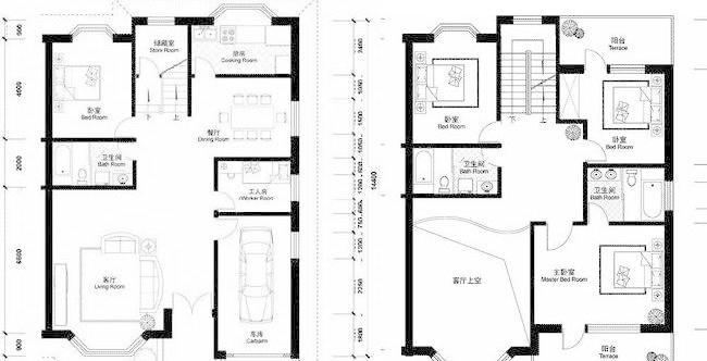 15米建房什么设计图