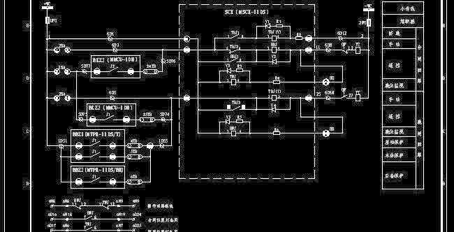 110kv变电站南瑞二次设计图纸