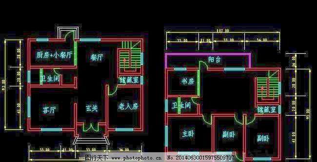 农村二层或三层房屋设计图